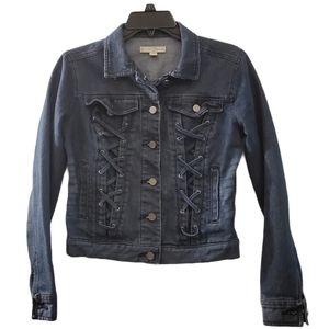 Est.1946 Blue Denim Button Front Jean Jacket XS